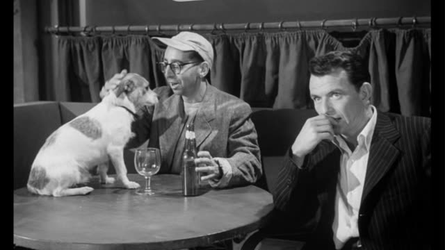 1955 man (frank sinatra) gives in to temptation - frank sinatra stock videos & royalty-free footage