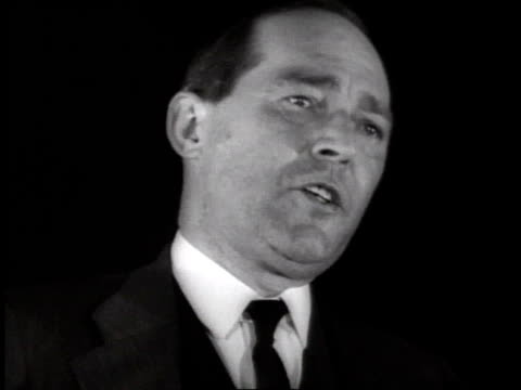 stockvideo's en b-roll-footage met man giving a speech about birth control and religion on december 30, 1935 / new york, new york - 1935