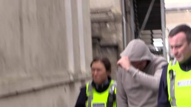 a man has appeared in court charged in connection with a crash that killed a mother and son and a young footballer keith lennon appeared before... - casual clothing stock videos & royalty-free footage