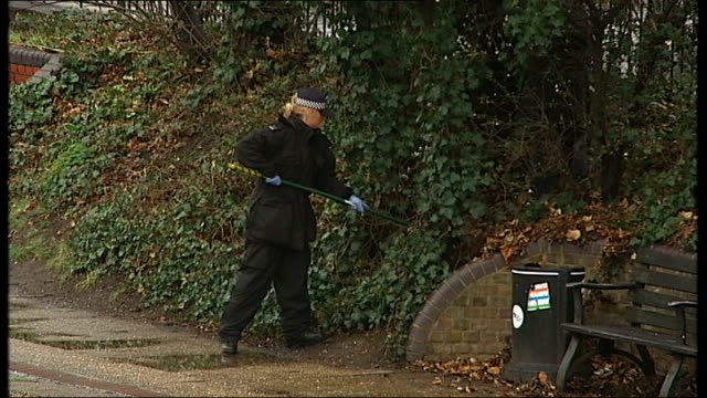 Man held by police after torso found in Regents Canal victim believed to be former Eastenders actress 732012 London Hackney EXT Forensic officers...