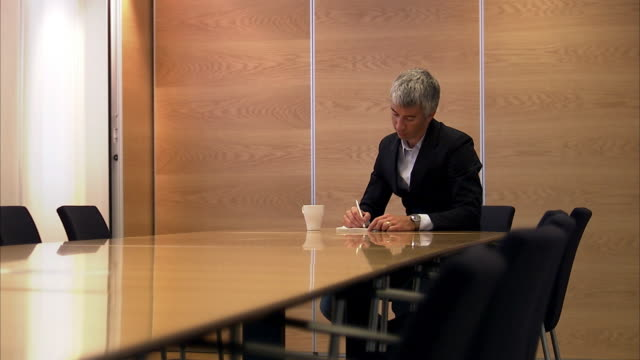 a man in a conference room sweden. - authority stock videos and b-roll footage