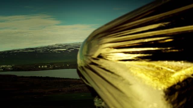 man in gold. - dorato colore descrittivo video stock e b–roll