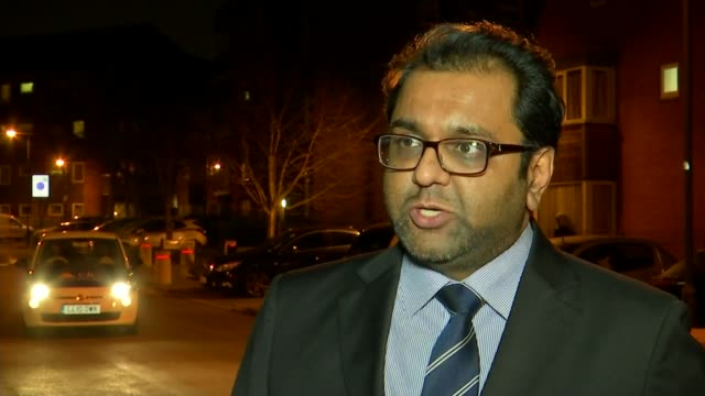 Man in hospital after stabbing in Harrow ENGLAND London Detective Seargent Amar Patel interview SOT re stabbing in Harrow