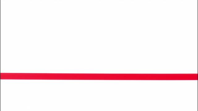 ms, man in suit cutting red ribbon, studio shot - ribbon sewing item stock videos & royalty-free footage