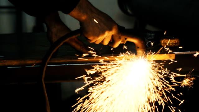 Man in the workshop