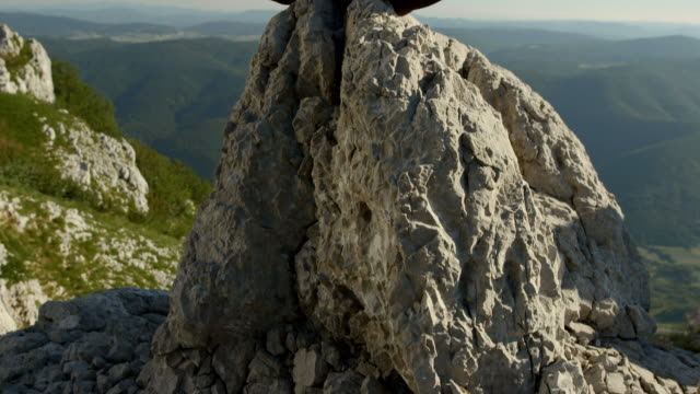 hd :man 瞑想にロック - 胡坐点の映像素材/bロール
