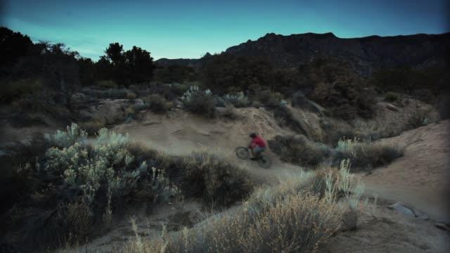 man mountain biking - only mature men stock videos & royalty-free footage