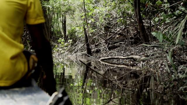 man padeling - kayak stock videos & royalty-free footage