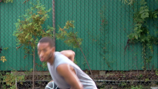 man passing basketball - see other clips from this shoot 1281 stock videos and b-roll footage
