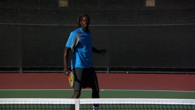64 African Man Playing Tennis Videos And Hd Footage Getty Images
