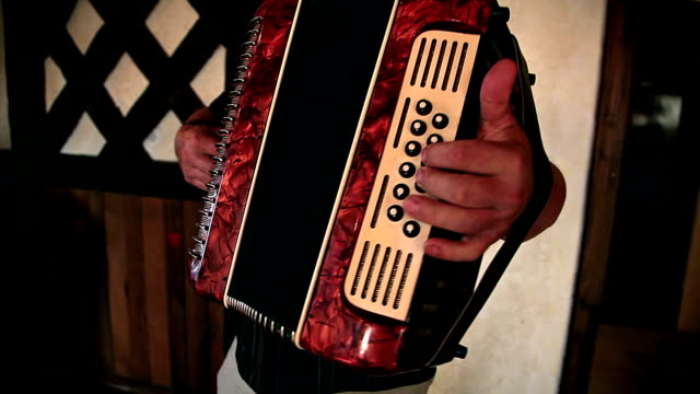 HD: Man Playing The Accordion