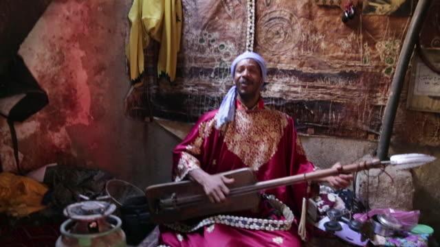 man plays haihouj