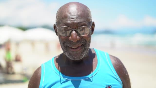Man Portrait at Beach