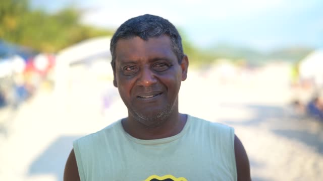 Man Portrait at Beach