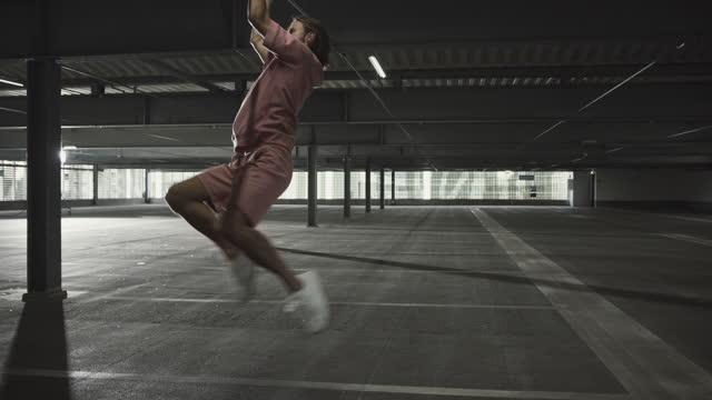 man practicing ballet dance - endurance stock videos & royalty-free footage