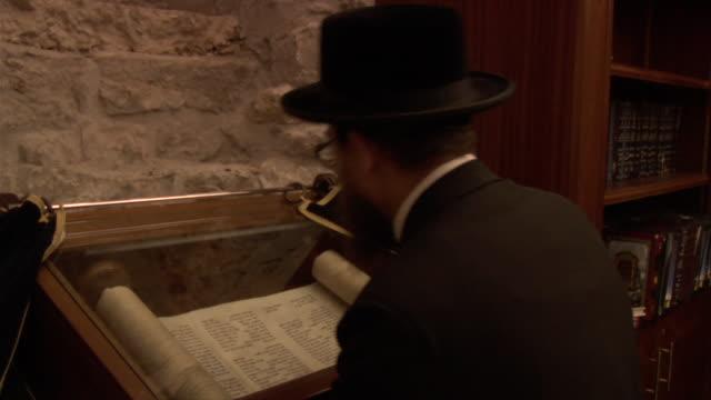 man praying - torah stock videos and b-roll footage