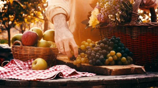 man reaching for grape - red grape stock videos & royalty-free footage