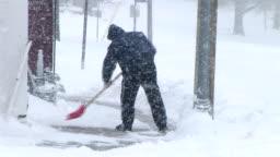 Man Shoveling Snow 03