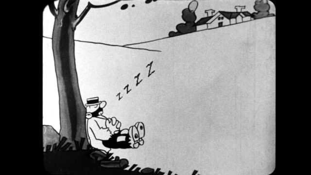 a man sleeps under a tree - snoring stock videos and b-roll footage