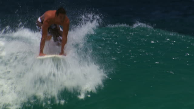 man surfing - see other clips from this shoot 1142 stock videos & royalty-free footage