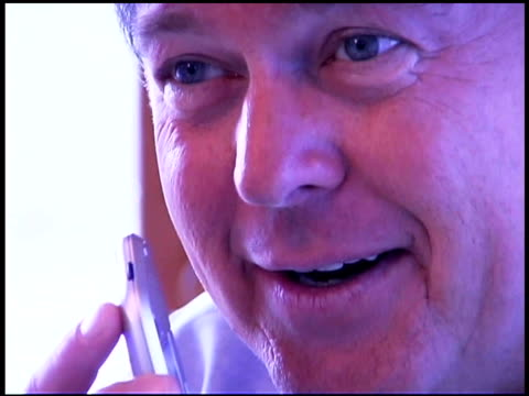 man talking into recorder - only mature men stock videos & royalty-free footage