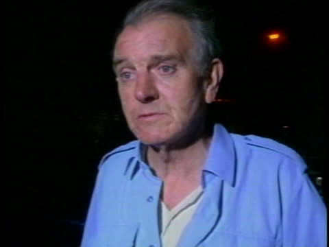 a man talks about the carnage from the lockerbie air disaster - dumfries and galloway stock videos & royalty-free footage