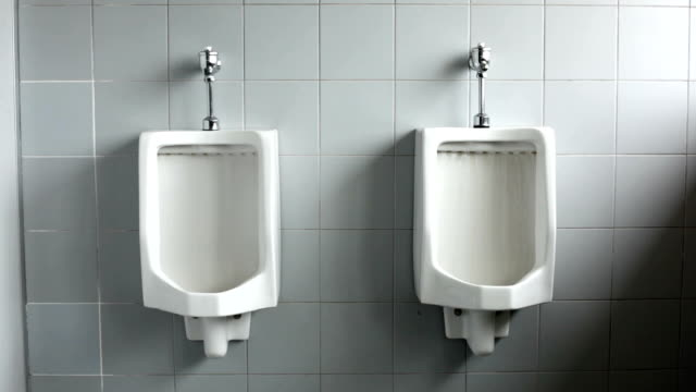 man toilet - public restroom stock videos and b-roll footage