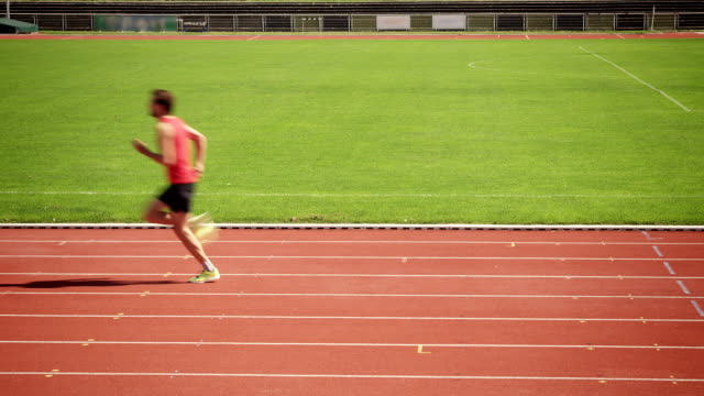 man training for triathlon - pursuit sports competition format stock videos and b-roll footage