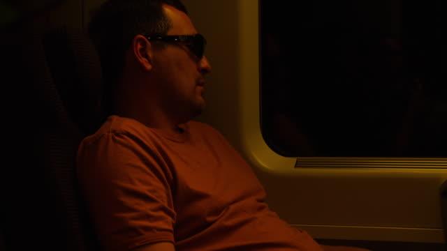 ms man traveling on train / italy - nur männer über 30 stock-videos und b-roll-filmmaterial