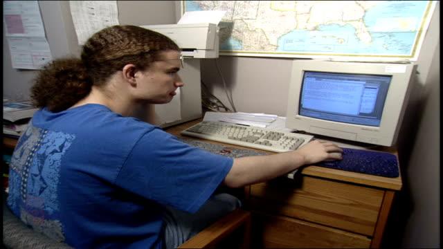 man using a pc desktop - 1997 stock videos & royalty-free footage