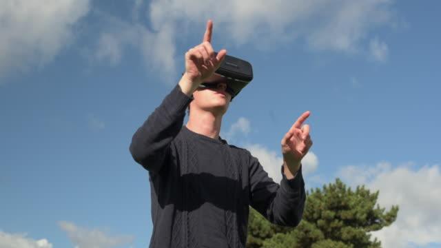 Man Using Virtual Reality - Brief
