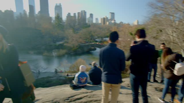 pov of man walking in central park nyc - walking point of view stock videos and b-roll footage
