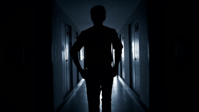 man walking to success - power cut stock videos & royalty-free footage