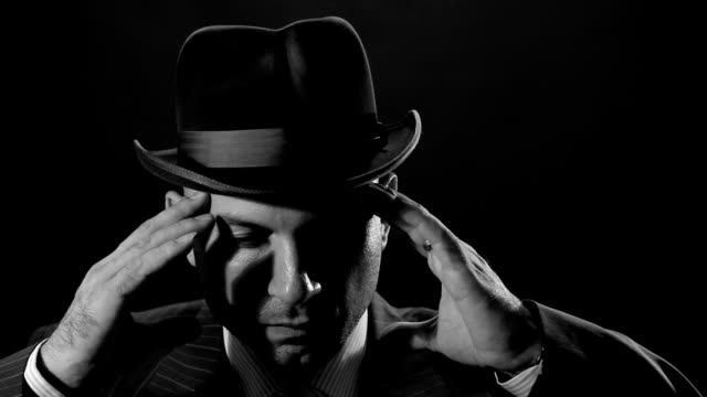 man with bowler hat - 1930 stock videos & royalty-free footage