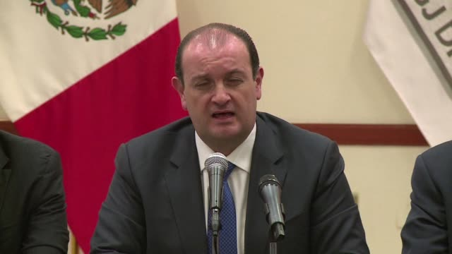 a man with criminal records has been detained as part of the investigations on the homicides of photojournalist ruben espinosa and four women mexico... - photojournalist stock videos & royalty-free footage
