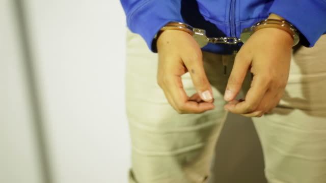 man with handcuffs - old prisoner stock videos & royalty-free footage