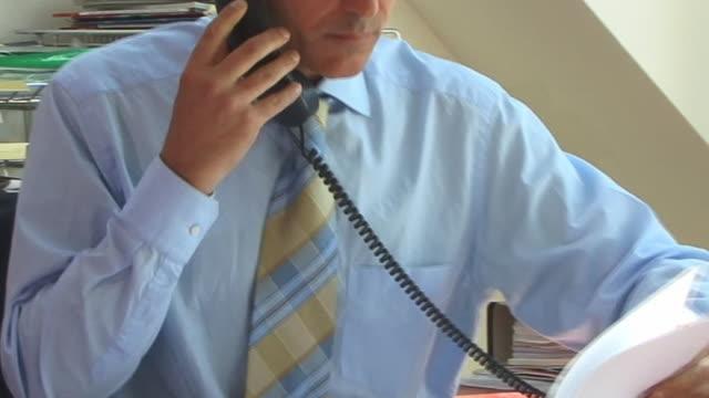 CU, Man working in office
