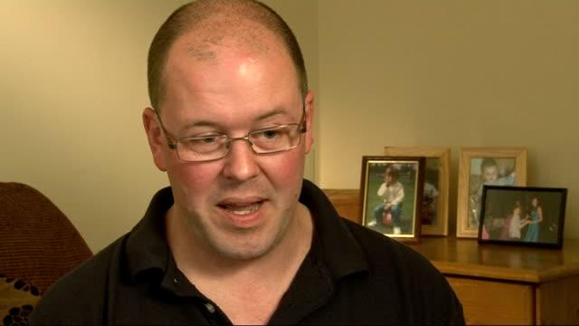 vídeos de stock e filmes b-roll de man wrongly jailed for sex attack speaks of ordeal england northamptonshire int warren blackwell interview sot - northamptonshire