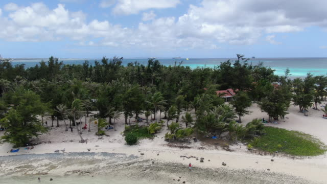 managaha island / saipan, northern mariana islands, usa - island stock videos & royalty-free footage