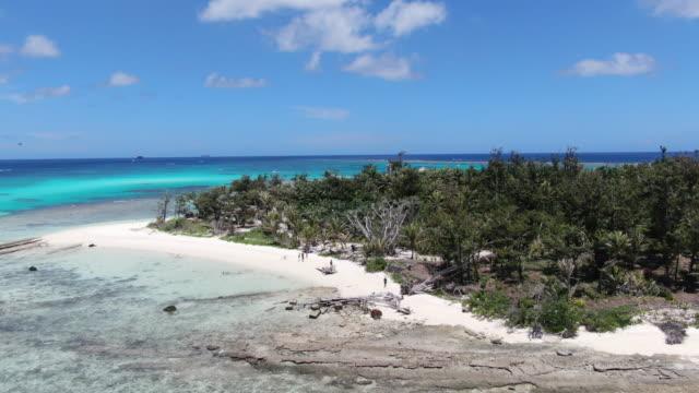 managaha island / saipan, northern mariana islands, usa - desert island stock videos & royalty-free footage