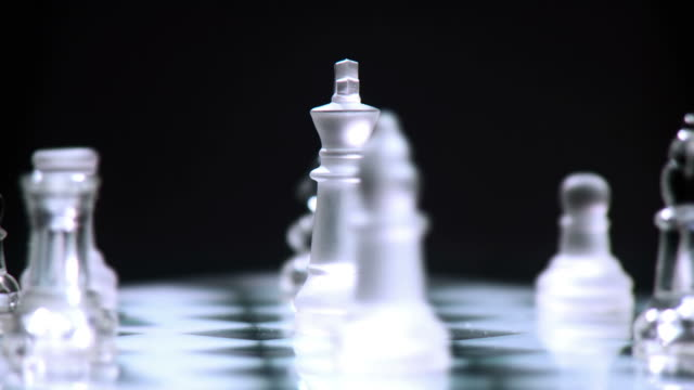 hd loop: manager and his team - chess stock videos & royalty-free footage