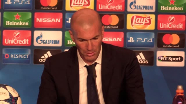Manager Zinedine Zidane reflects on his side's 41 victory in the Champions League final against Juventus in Cardiff