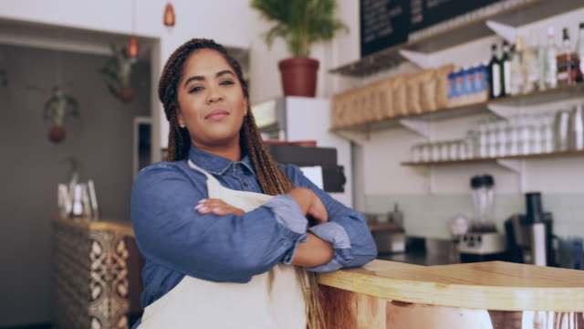 managing one of the most successful cafes around - franchising stock videos and b-roll footage
