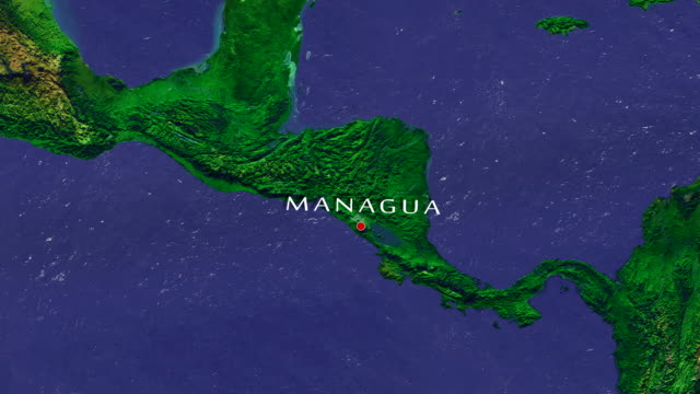 managua 4k zoom in - nicaragua stock videos and b-roll footage