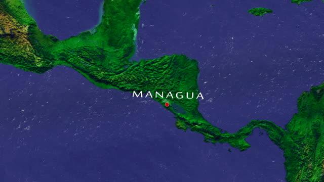 stockvideo's en b-roll-footage met managua 4k zoom in - managua