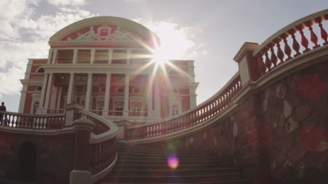 vídeos de stock, filmes e b-roll de manaus city - low angle view