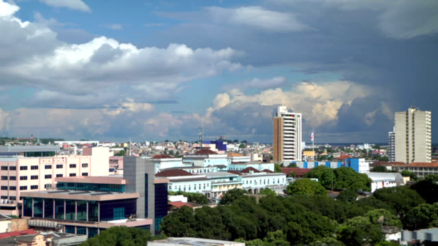 manaus cityscape - manaus stock videos and b-roll footage