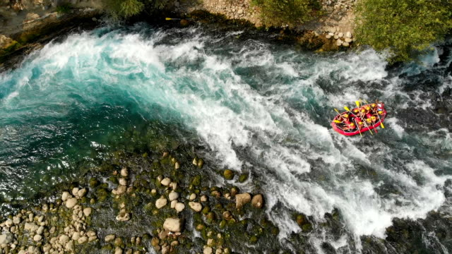 manavgat river, antalya, turkey - rafting stock videos and b-roll footage