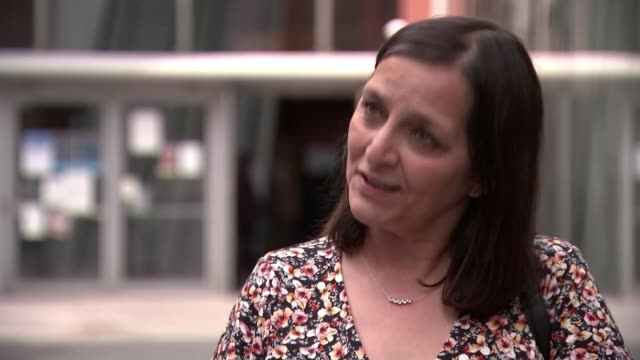 manchester arena attack inquiry: emotional tributes paid to victims; england: manchester: ext reporter to camera sot figen murray interview sot - manchester arena stock videos & royalty-free footage