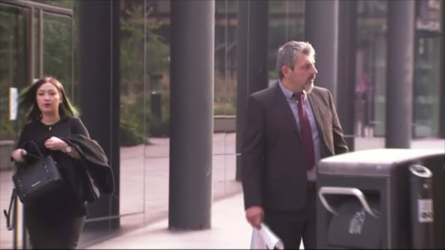 manchester arena attack inquiry: parents of saffie rose roussos pay tribute; england: manchester: manchester magistrates' court / manchester arena... - manchester arena stock videos & royalty-free footage